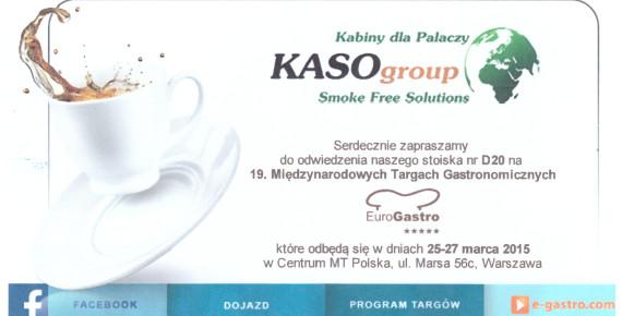 EuroGastro 2015 ZAPRASZAMY na papieroska